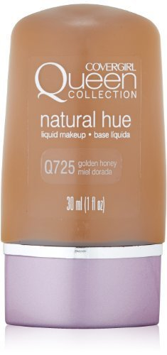 CoverGirl Queen Collection Liquid Makeup Foundation, Golden Honey 725, 1.0-Ounce Bottles (Pack of 2) by COVERGIRL
