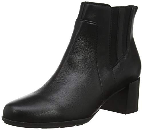 Geox D New ANNYA Mid B, Botines para Mujer, Negro (Black C9999), 42 EU