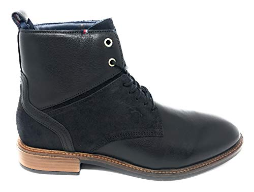 Herren Tall Leder Stiefel - Tommy Hilfiger Herren Elevated Tall Leather