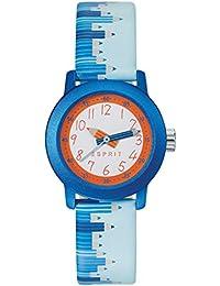 Esprit Kinder-Armbanduhr Blau Leder - ES106414036
