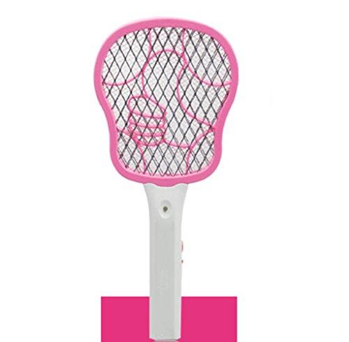 Mini Elektrische Mücken-klatsche Batterien Fliegenklatsche Hochwertige Mosquito Fliege Zapper Fliegenfänger keine Giftstoffe Insektenvernichter Anwendung im Haus und draußen