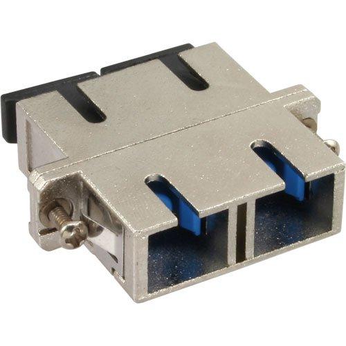InLine 89992T LWL Metall-Kupplung (Duplex SC Stecker auf SC Stecker) -