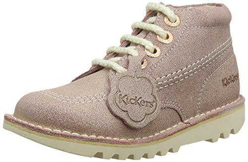Kickers Baby Mädchen Kick Hi Stiefel, (Pink Pnk), 29 EU (Wildleder Hi Stiefel)