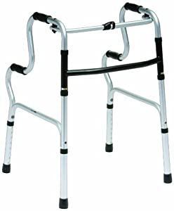 Drive DeVilbiss Healthcare Adjustable Height Easy / Hi-Rise Folding Lightweight Walking Frame