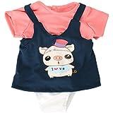 Gazechimp JuegosCorrea de Hombro Vestido de Muñecas Camiseta RopaInterior y Sombreros Accesorios Moda de American Girl 18 Pulgadas