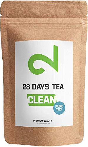 DUAL 28 Days Detox Tea Para Pérdida Peso