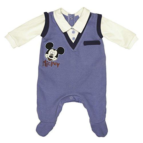 Disney Mickey Mouse Baby bequemer Jungen Langarm schick -