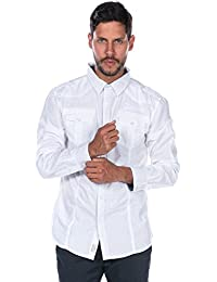Deeluxe Sparodry - Chemise casual - Taille normale - Manches courtes - Homme