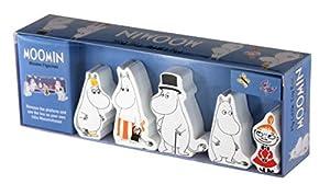 Barbo Toys 6730 Moomins My Little Toy Box - Juego de Figuras de Madera (5 Piezas)