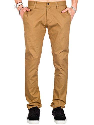 Volcom Herren Hose Frickin Tight Chino Pant Bronze