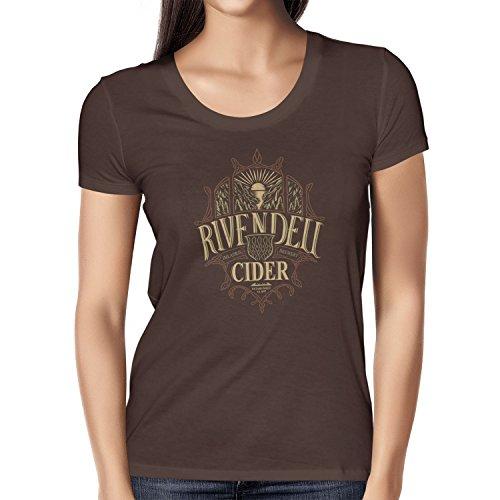 TEXLAB - Elvish Cider - Damen T-Shirt Braun