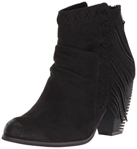Not Rated Angie Damen Rund Stoff Mode-Stiefeletten Black