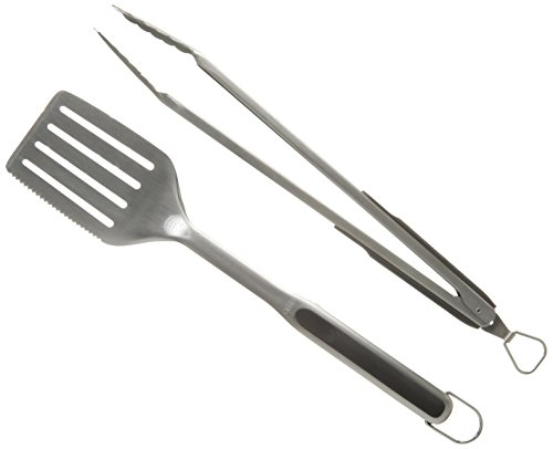 OXO Good Grips Grillen Turner mit Wellenschliff, silber Grillset wood/stainless steel