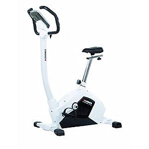41SfsmYWutL. SS300  - Hammer Cardio XT5 Programmable Exercise Bike - Black/White