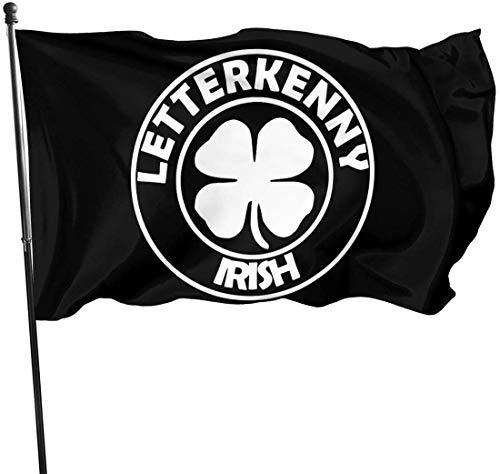 Viplili Letterkenny-Irish Garden Flag Banner Flagge für innen/außen 3 x 5