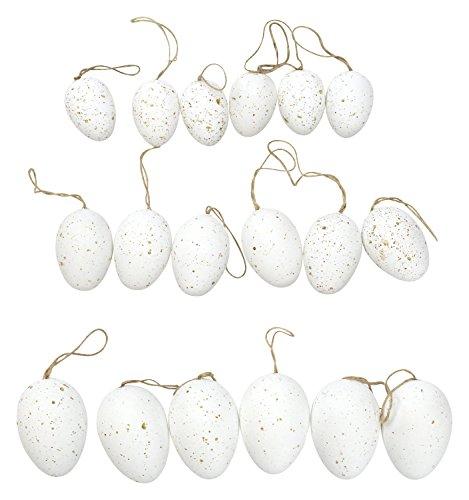 Decoline Ostereier 18 Stück im Beutel weiß