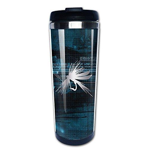 mit Tassen, Fliegenfischen Köder Haken Tackle Platinum Stil Kaffee Tasse (Fliegenfischen Haken Größen)