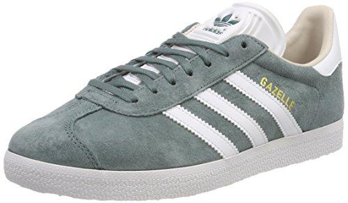huge discount 05366 2ea44 adidas Gazelle W, Zapatillas para Mujer, Verde (Raw Green Footwear White