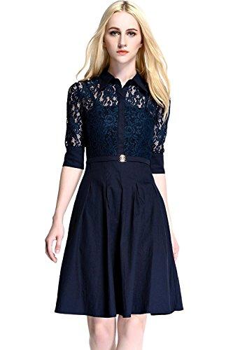 womdeetm-women-vintage-1950s-lace-splice-3-4-sleeve-flare-a-line-cocktail-shirt-dress