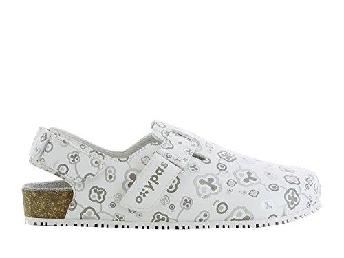 oxypas biancas3801wht Bianca SRC Bio Arbeiten Schuh mit Gurt (Kork Einfache Kork-sandalen)