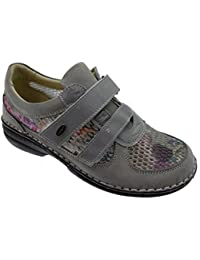 Loren - Zapatos de cordones para hombre gris gris gris Size: 40