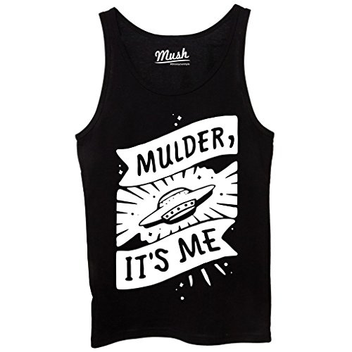 Canotta MULDER IT'S ME X-FILES - FILM by Mush Dress Your Style Nera