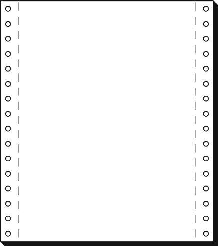 Sigel 08181 Endlospapier 8 Zoll x 180 mm (A5 hoch), 70 g, 2000 Blatt LP, 1fach