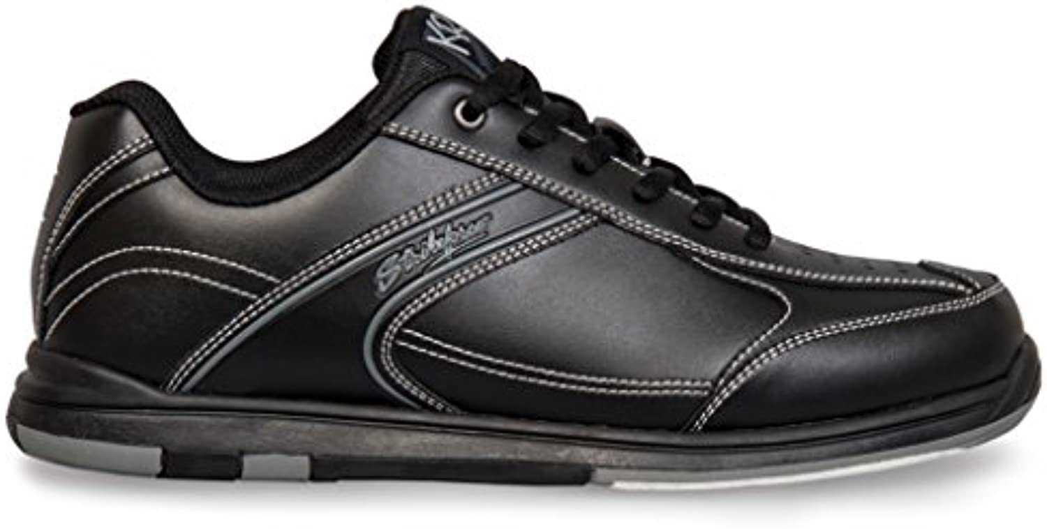 KR Strikeforce M-030-140 Flyer - Zapatillas para Bolos, Color Negro, Talla 14  -
