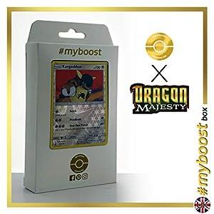 Kangaskhan 55/70 Holo Reverse - #myboost X Sun & Moon 7.5 Dragon Majesty - Box de 10 cartas Pokémon Inglesas