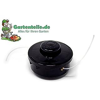 Schneidkopf komplett passend für EINHELL GARDENLINE GH-BC 43 AS Rasentrimmer | Benzin Motor Sense | Rasensense | Freischneider besteht aus: Spule, Feder, Faden, Haube und Spulenaufnahme