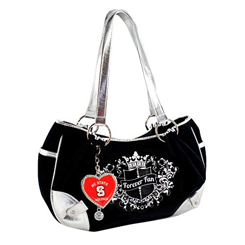 Littlearth NCAA Basketball Sport Luxe Fan Hobo Tasche, North Carolina State Wolfpack Ncsu Basketball