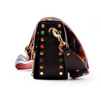 Macton Donna Rivetto In Pelle Borsa A Tracolla Casual Messenger Bag Europe Mc-5019 Grigio