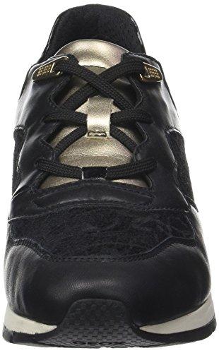 Geox Herren U dennie A Sneaker Schwarz (Black)