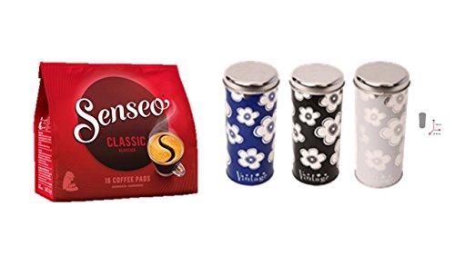 Senseo Kaffeepads Klassisch / Classic, neues Design, Intensiver & Vollmundiger Geschmack, Kaffee,...
