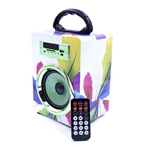 Altavoz Bluetooth ELECITI con radio, USB y lector SD por 14,99€ ¡¡52% de descuento!!