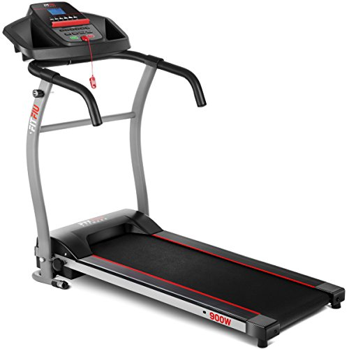 Fitfiu MC-100 - Cinta de Correr Plegable, Color Negro, 900 W
