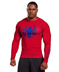 Under Armour Men's Alter Ego Compression Long Sleeve Shirt X-large Red By Under Armour