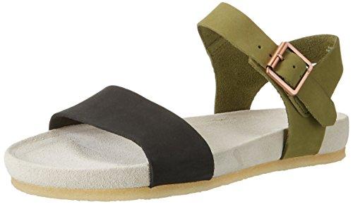 clarks-womens-dusty-soul-wedge-heels-sandals-green-forest-green-37-uk