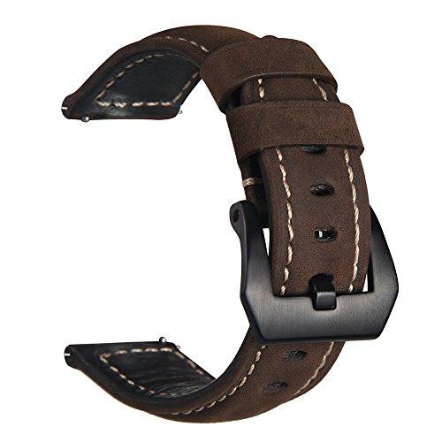 Samsung Gear S3Watch Band, v-moro Nero in Acciaio Inox Di Smart Watch Band Strap Bracciale per Gear S3frontiera e Gear S3Smart Watch