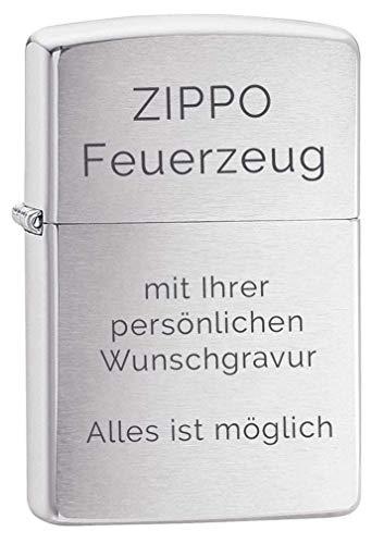 original ZIPPO Feuerzeug mit Gravur | Benzinfeuerzeug | Herrengeschenk