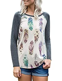 Blooming Jelly Women s Long Sleeve T Shirt Tops e34aaf044