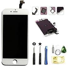 LT0220 de repuesto pantalla LCD táctil de montaje incluye juego de herramientas para iPhone 6 blanco