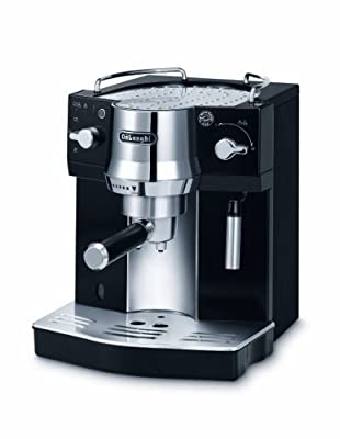 De'Longhi Pump Espresso Coffee Machine - Black