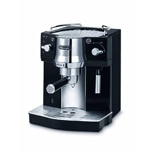 De'Longhi EC 820.B Macchina per caffè Espresso con Pompa, 1450 W, 1 Liter, Plastica, Nero/Acciaio