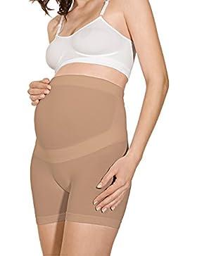 RelaxMaternity 5120 Figurformende Schwangeschafts-shorts aus Baumwolle mit Unterleibstütze