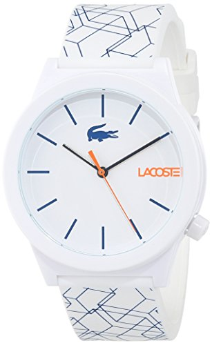 Lacoste Unisex-Adult Analogue Classic Quartz Watch with Silicone Strap 2010956