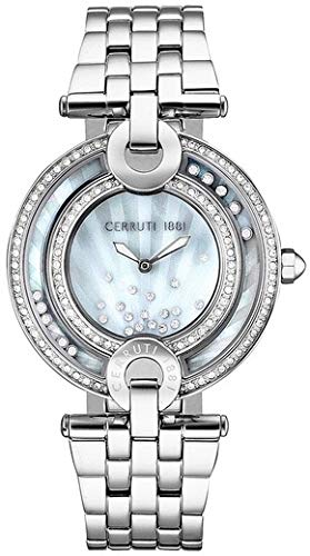 Cerruti 1881 Womens Analogue Classic Quartz Watch with Stainless Steel Strap CRM054SN28MS