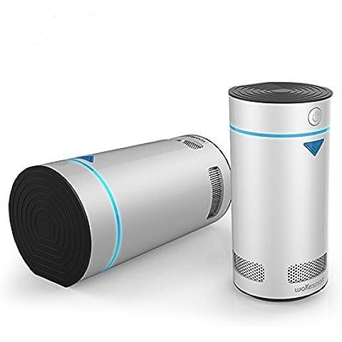 Expower Deodorante Purificatore d'Aria per Frigo, Conservazione di Alimenti Rimozione dei Batteri App Cellulari Controllo a Remoto Ricaricabile USB
