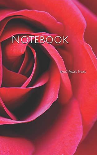 Notebook: Rose blossom bloom flower romantic love red - Antique Rose Urn