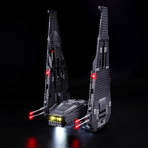 tungsset für Lego Star Wars Kylo Ren's Command Shuttle, Kompatibel Mit Lego 75104 Bausteinen Modell - Ohne Lego Set ()